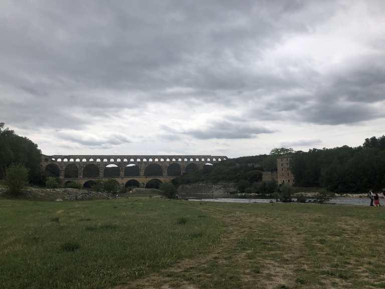 Südfrankreich, Cevennen, Nähe Uzes, Pont Du Gard, 10.05