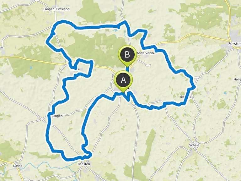 Emsland Routenplaner