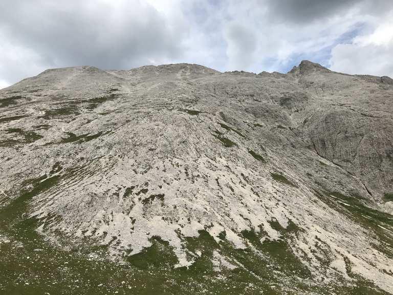 Klettersteig Plattkofel : Seiser alm über langkofelhütte und oskar schuster klettersteig zum